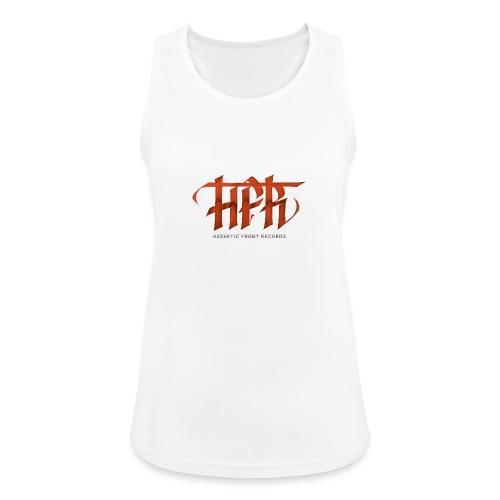 HFR - Logotipo fatto a mano - Top da donna traspirante