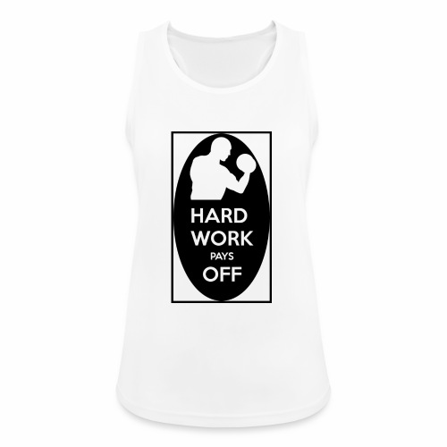hard work pays off 2 cup.jpg - Women's Breathable Tank Top