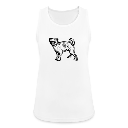 Pug Dog - Women's Breathable Tank Top