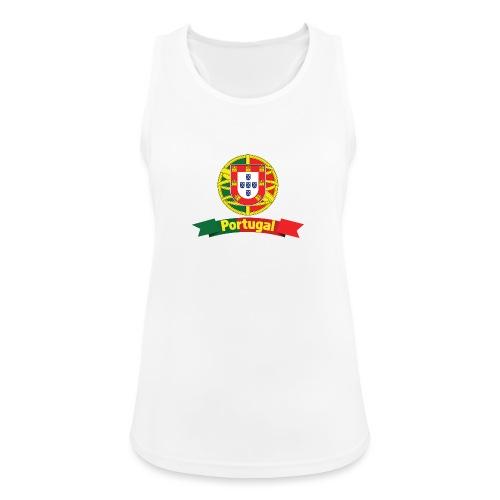 Portugal Campeão Europeu Camisolas de Futebol - Women's Breathable Tank Top