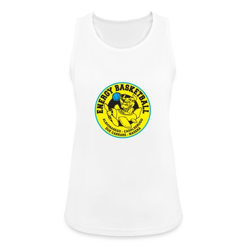 street wear energy basketball merchandising - Top da donna traspirante