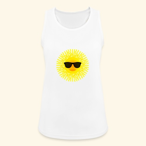 Sol de Canarias - Camiseta de tirantes transpirable mujer