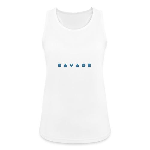 savage - Frauen Tank Top atmungsaktiv