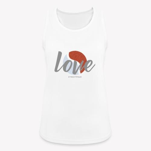LOVE street wear - Débardeur respirant Femme