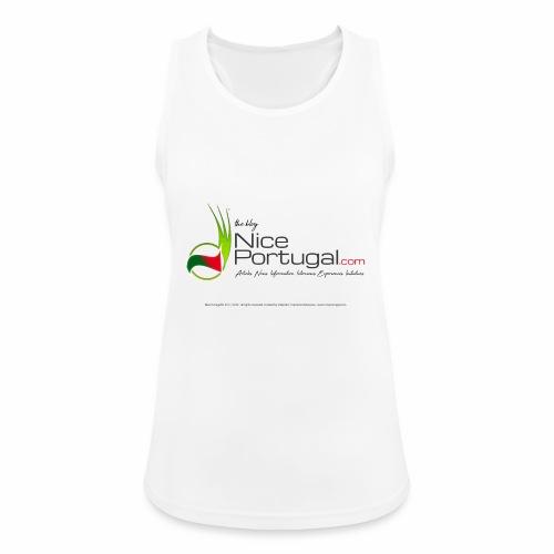 NicePortugal.com Logo - Top da donna traspirante