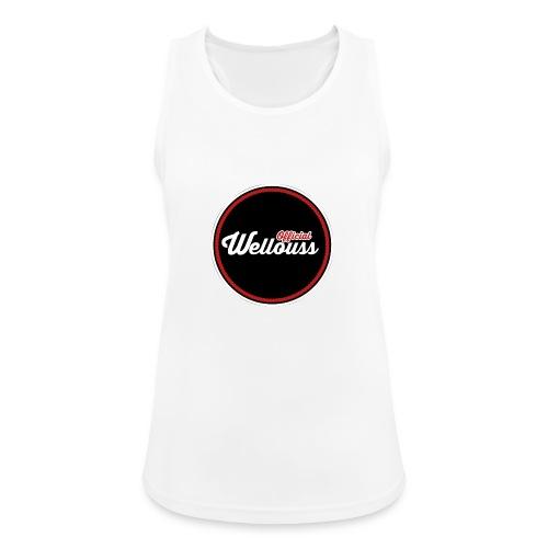 Wellouss Fan T-shirt | Rood - Vrouwen tanktop ademend actief
