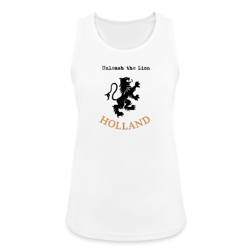 HOLLAND Oranje Unleash the LION - Vrouwen tanktop ademend actief