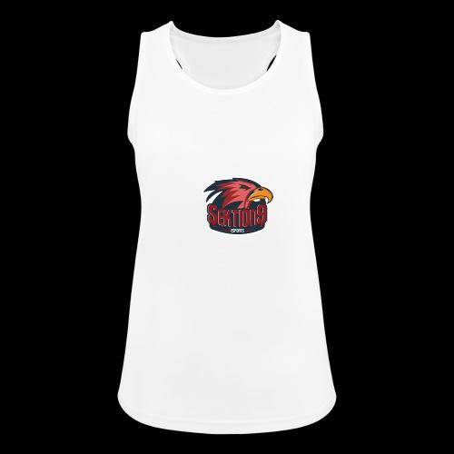 Sektion9 logo Rot - Frauen Tank Top atmungsaktiv