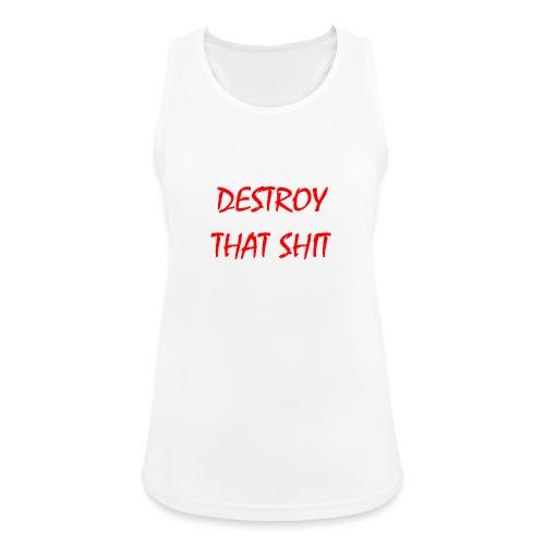 DestroyThatSh ** _ red - Women's Breathable Tank Top