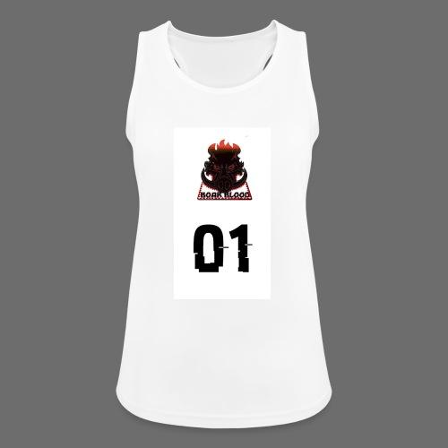 Boar blood 01 - Tank top damski oddychający