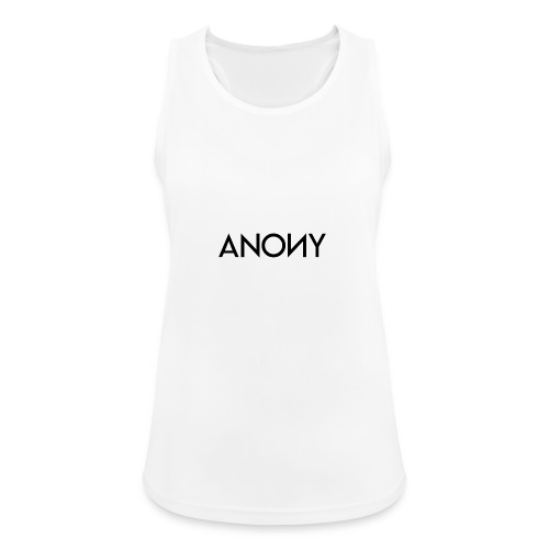 Anony Text - Camiseta de tirantes transpirable mujer