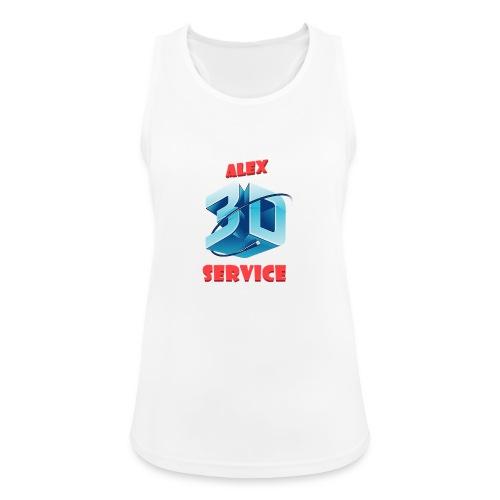 logo emporesa de impresion 3d en albacete - Camiseta de tirantes transpirable mujer