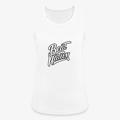 Logo Officiel Beat Nation Blanc - Frauen Tank Top atmungsaktiv