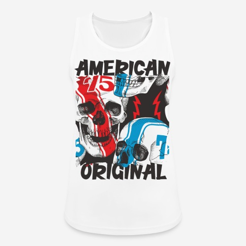 usa american original - Frauen Tank Top atmungsaktiv