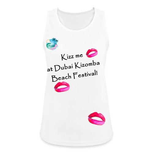 Perfect lips design black text variation 4 - Women's Breathable Tank Top