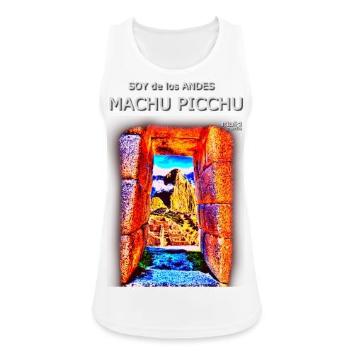 SOJA de los ANDES - Machu Picchu I - Camiseta de tirantes transpirable mujer