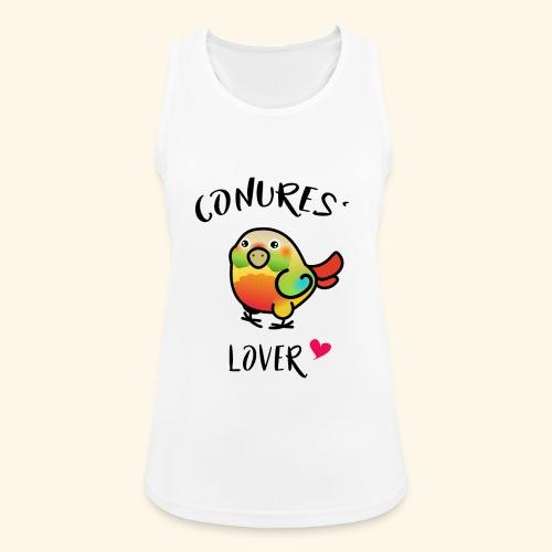 Conures' Lover: Ananas - Débardeur respirant Femme
