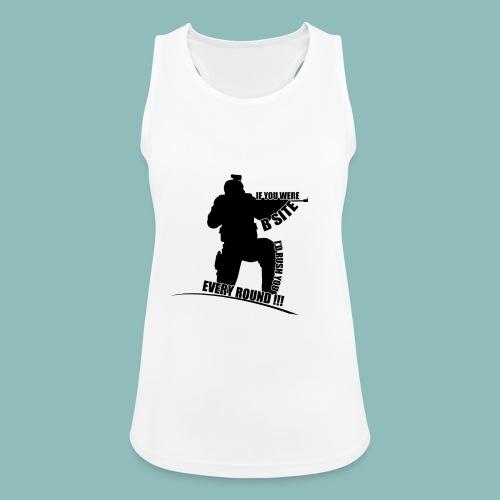 I'd rush you - Black Version - Frauen Tank Top atmungsaktiv