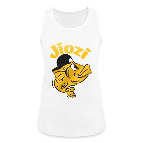 Jiozi Official Logo - Top da donna traspirante