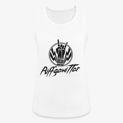 Riffgewitter - Hard Rock und Heavy Metal - Frauen Tank Top atmungsaktiv