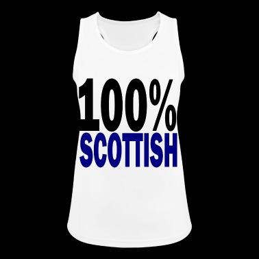 Schots - Vrouwen tanktop ademend