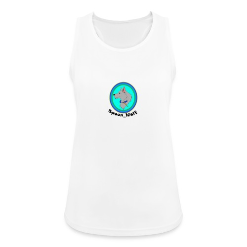 Spoon_Wolf_2-png - Women's Breathable Tank Top