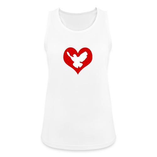 Peace & Love - Frauen Tank Top atmungsaktiv