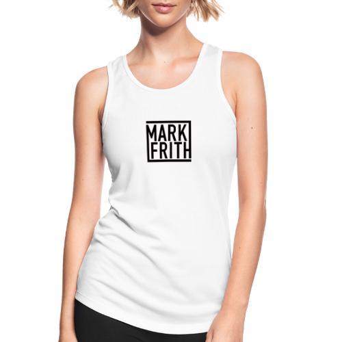 MARK FRITH Logo BLACK - Women's Breathable Tank Top