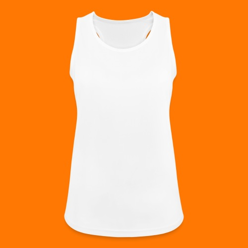 SCP-sign-WHITE transp - Women's Breathable Tank Top