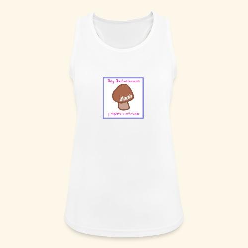 Soy Setamaniaco - Camiseta de tirantes transpirable mujer