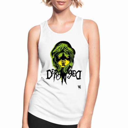 DerangeD - Tattoo Metal Horror Vampire - Dame tanktop åndbar