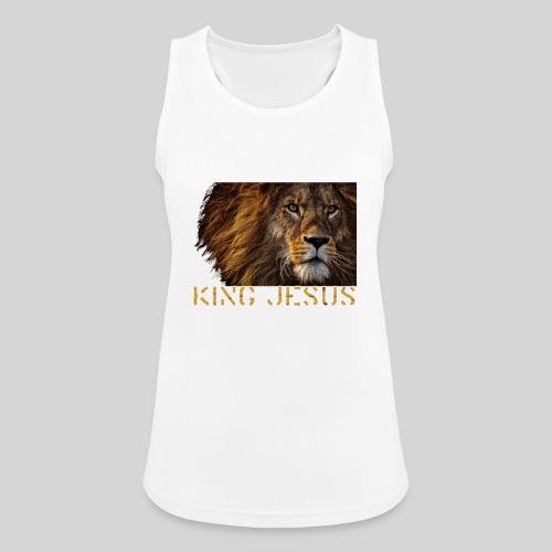 König Jesus der Löwe von Juda - Frauen Tank Top atmungsaktiv