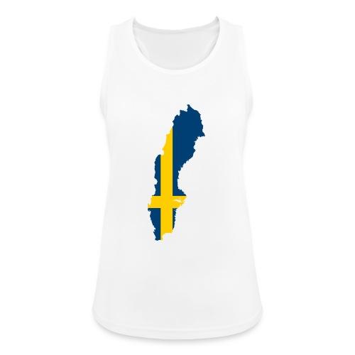 Sweden - Vrouwen tanktop ademend actief
