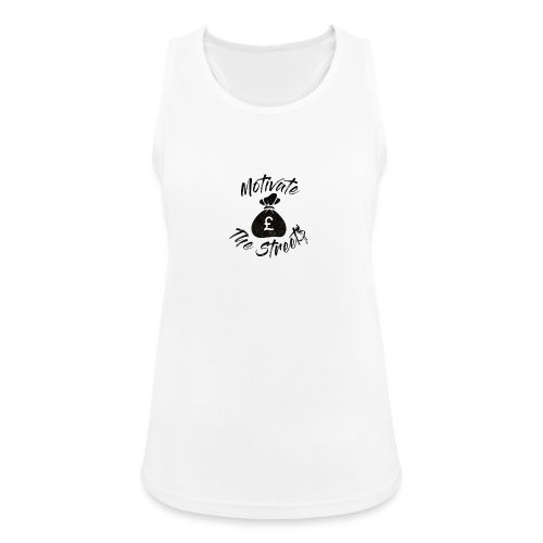 Motivate The Streets - Women's Breathable Tank Top