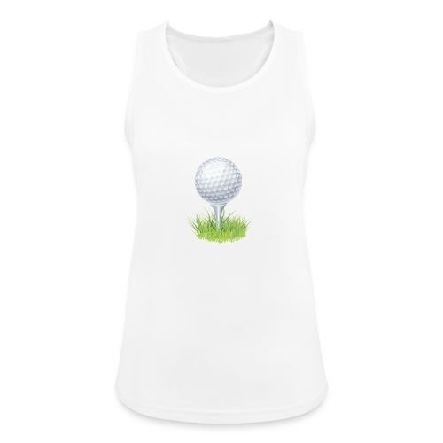Golf Ball PNG Clipart - Camiseta de tirantes transpirable mujer