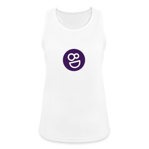 logo 8d - Vrouwen tanktop ademend actief