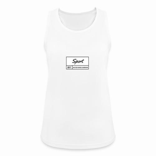 Schtephinie Evardson Sporting Wear - Women's Breathable Tank Top