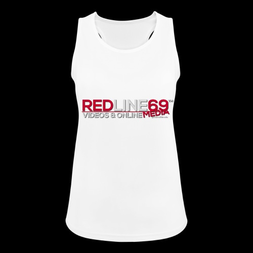 Redline69 Media Logo - Women's Breathable Tank Top