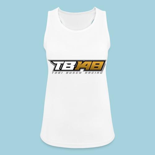 Tobi Logo Grau - Frauen Tank Top atmungsaktiv