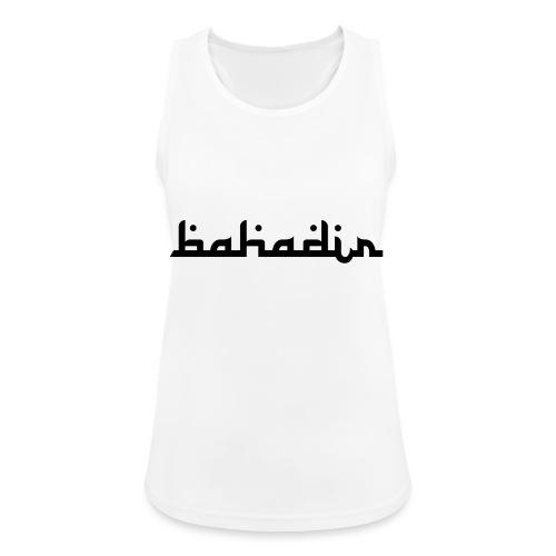 bahadir logo1 png - Frauen Tank Top atmungsaktiv