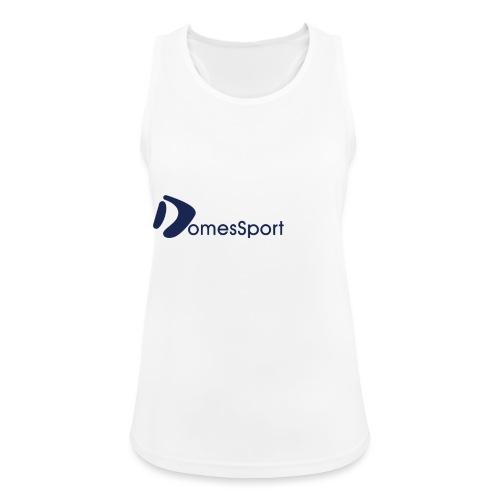 Logo DomesSport Blue noBg - Frauen Tank Top atmungsaktiv
