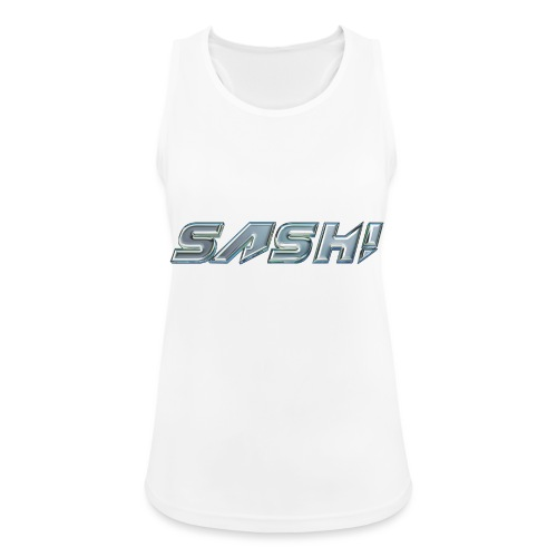 SASH! Logo 2 - Women's Breathable Tank Top