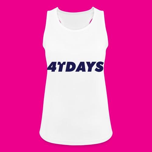 Original 4tdays logo - Vrouwen tanktop ademend
