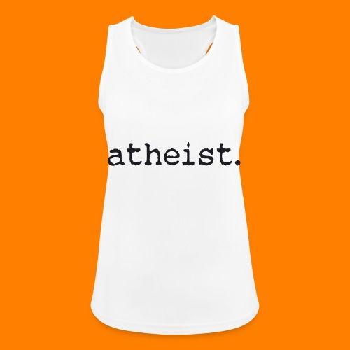 atheist BLACK - Women's Breathable Tank Top