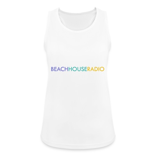 Beach House Radio Logo - Women's Breathable Tank Top