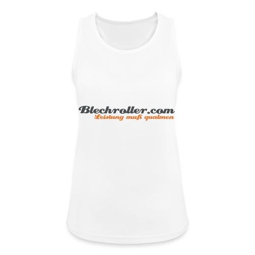 blechroller logo - Frauen Tank Top atmungsaktiv