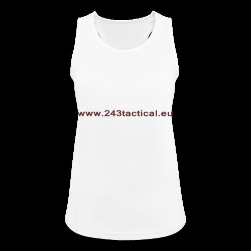 .243 Tactical Website - Vrouwen tanktop ademend