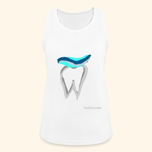 Zahn mit Pasta - Frauen Tank Top atmungsaktiv