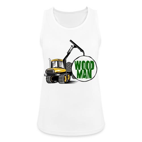 Woodman kuormatraktori, t paidat, hupparit, lahjat - Naisten tekninen tankkitoppi