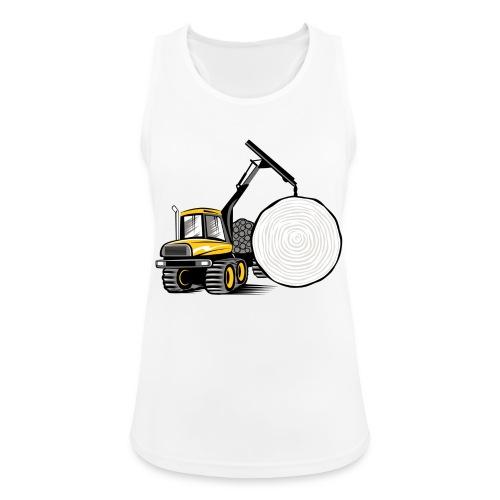 Kuormatraktori t paidat, hupparit, lahjatuotteet - Naisten tekninen tankkitoppi